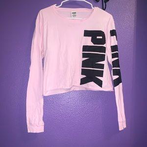 Large Baby Pink Pink T-shirt